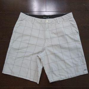 O'Neill   Plaid Casual Shorts